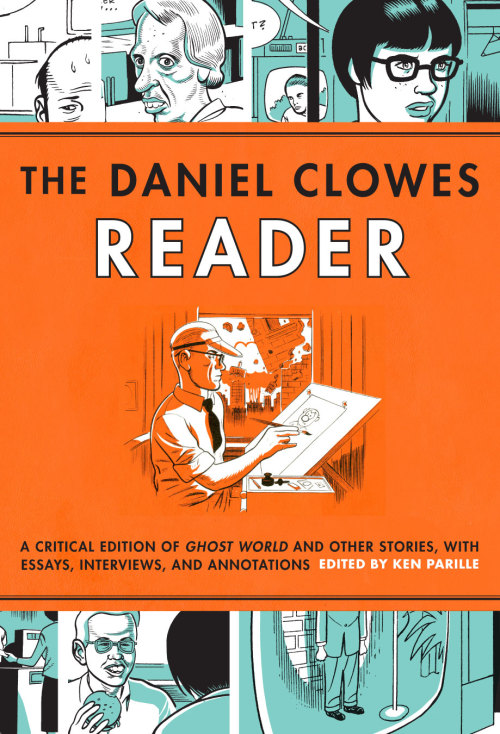 "fantagraphics:  At the printer now for release in July, The Daniel Clowes Reader: A Critical Edition of Ghost World and Other Stories, with Essays, Interviews, and Annotationsshines a whole new light on one of the greatest, most beloved graphic novels of all time along with several other classic Eightball stories and Clowes rarities. Editor Ken Parille has brought together a stable of great minds, including Clowes himself, for a plethora of fascinating and highly readable essays and other material, with topics like ""Enid's Bookshelf,"" ""Enid's Record Player,"" ""The Rise of the Zine,"" ""Against Groovy,"" and ""Urban Romanticism, Mad Magazine, and the Aesthetics of Ugly."" Browse the Table of Contents and read the Introduction, 12 pages of Ghost Worldand more in our generous 31-page excerpt, and pre-order your copy right here."