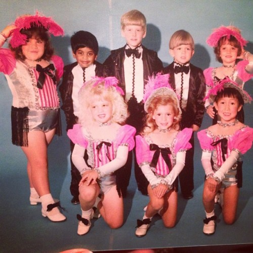 azizisbored:  Oh yeah, back in SC, I took some dance classes. (I'm back row, 2nd from the left)