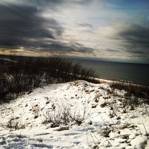 NYE weekend at #Lake Michigan