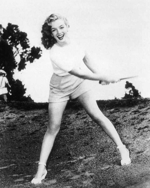 Marilyn Monroe by Ed Baird, 1947.