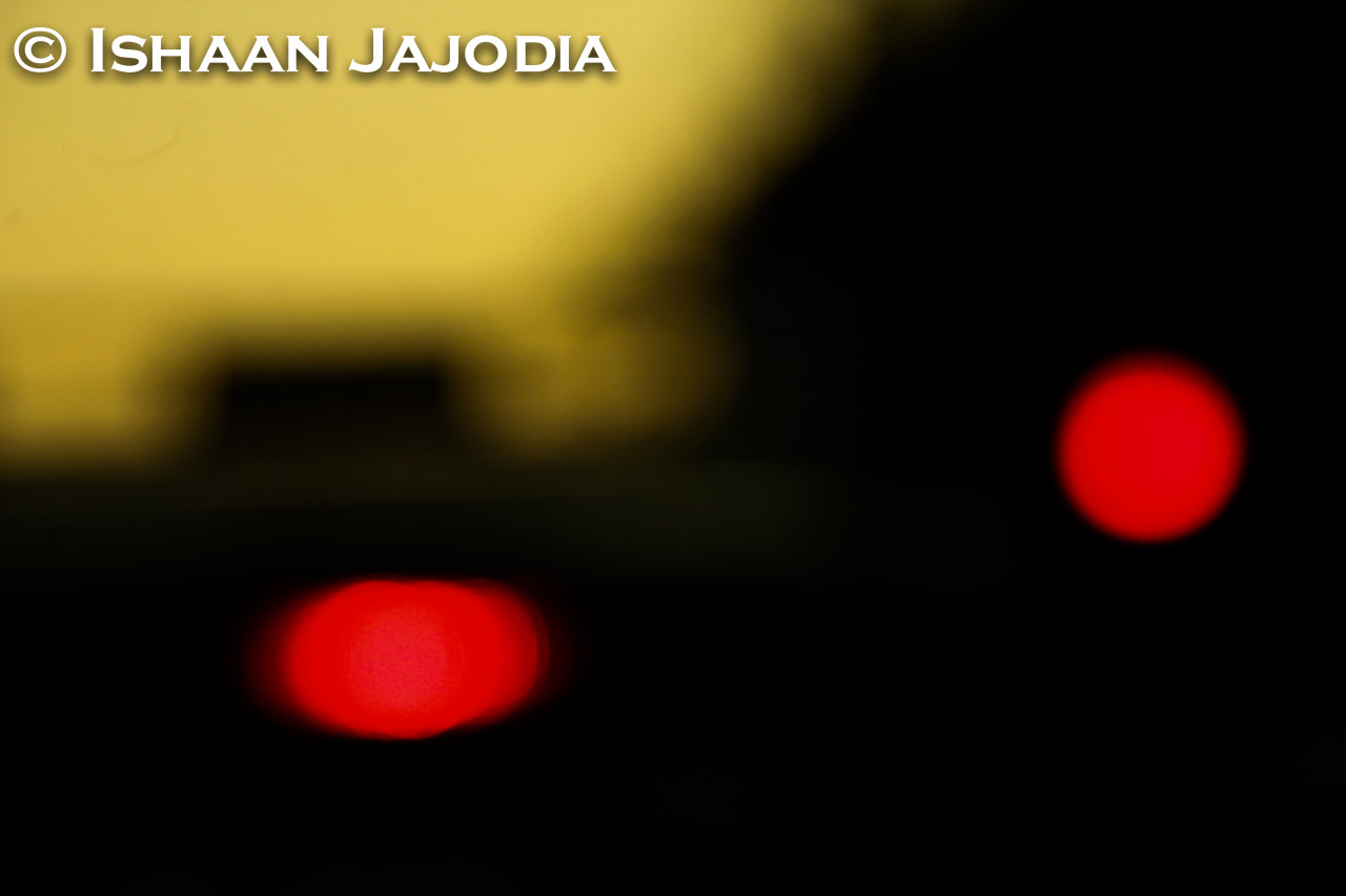Red-Lighted! -Ishaan Jajodia Photography