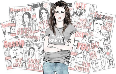 #kristenstewart the perfect WONDER WOMEN OF TODAY! read this interesting article HERE   I'm sure you won't mind that I'm not reciting this letter out loud to you on YouTube, the way a 14-year-old Twilight fan would. People are so full of feelings about you lately, Kristen Stewart—about your affair, your breakup, your public apology, your reconciliation. I have feelings about you too, but I'll do my best not to make this weird. I'm sorry that I didn't have the best impression of you at first, when I caught New Moonon a plane. The movie was too boring to keep me awake in my jetlagged state, and yet I couldn't fully fall asleep either, so it was a hellish cycle of watching and dozing while your performance as the mopey, lobotomized Bella played over and over for 10 hours. Later, though, I realized that you're really a better actress than that. You came of age onscreen not with cutesy-kid appearances but with movies like Panic Room with Jodie Foster. From a rape survivor in Speak to young Joan Jett in The Runaways, your body of work is impressive enough that, if future generations want to know what being a teenage girl was like at the turn of the millennium, they could just watch your back catalog. Though they might find it ironic that for your most famous role, in the Twilightsaga, you had to play such a dud. Then again, if history remembers what a slut-shaming, looks-dissecting, reality-show-trainwreck-clusterfuck our popular culture has been, it'll be no surprise that so many young women settled for a protagonist like Bella Swan. If nothing else, she was a blank slate they could project their fantasies onto. Or, really, onto you, Kristen. Because somehow, Bella managed to turn you into her, and you became not just a blank slate but also a virtual punching bag when you didn't act the way fans wanted. You should have smiled more at the Teen Choice Awards, and looked more in love with Edward. I mean, Robert! Whatever! cont-