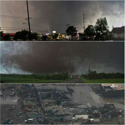 Pray for oklahoma. A huge tornado went through there today.