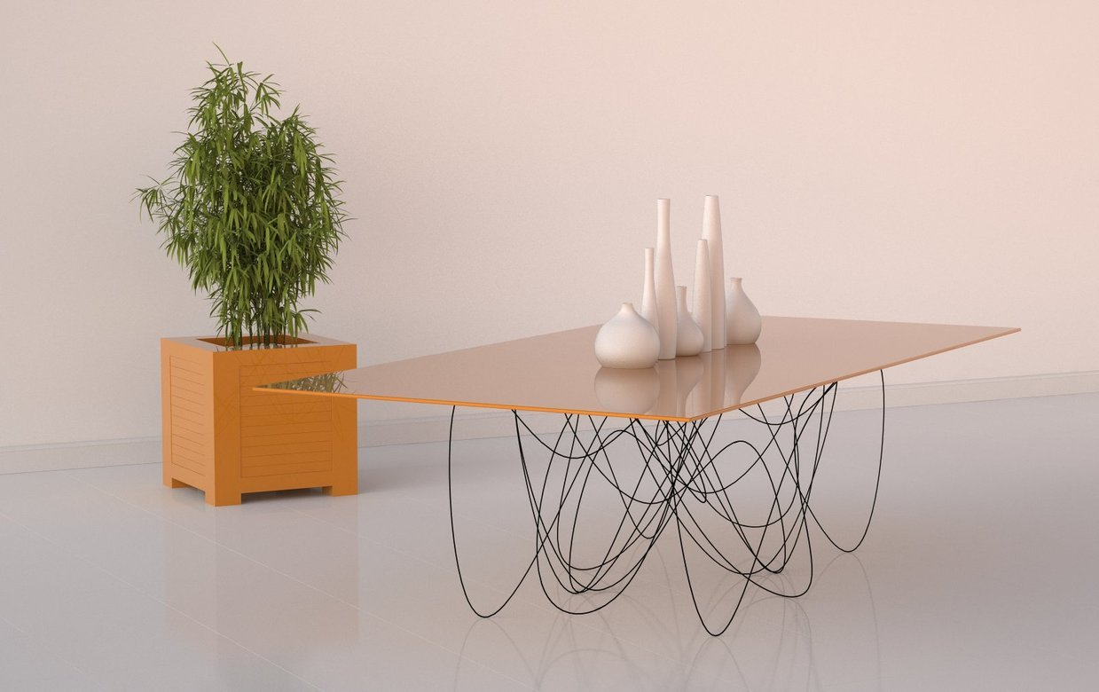 88floors:  Quantum Table by Jason Phillips