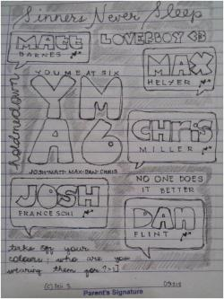 Wala lang. Haha. Made this when I was in junior high. Okayings. :3