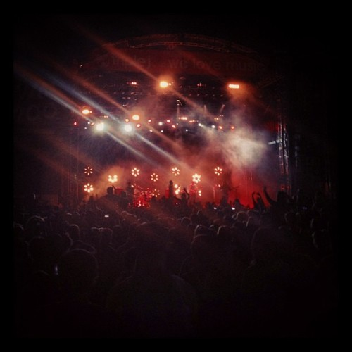 #TheTemperTrap a good way to finish a fun #GTM (at Groovin The Moo)