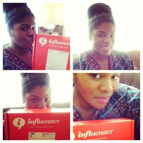 My #voxbox came from @influenster! I think I could have a love affair with these things! Stay tuned for what's inside. #influenster #brilliantsmile #sprayandgo #dickinsonswitchhazel #nectresse #breakfastbiscuit