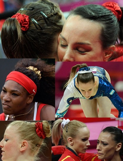 An ode to scrunchies at the Olympics