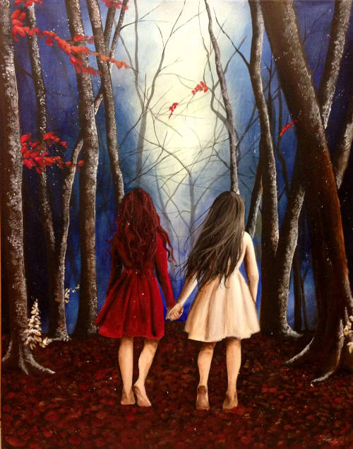 noctillucca:  Snow White and Rose Red Inspirational music: this, this and this - The Little Mermaid - Little Red Riding Hood - Beauty and the Beast - Sleeping Beauty - Alice's Adventures in Wonderland