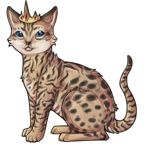 A freebie for Tide on Subeta of her adorable kitten. <3 Trying to practice my quad anatomy more!