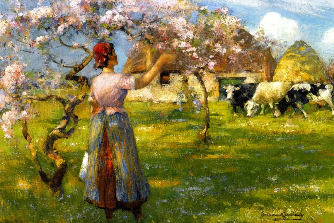 fleurdulys:  Spring Blossom - William Kennedy