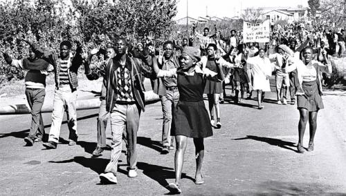 """It's just like what they did to us in 1976"" - My mother Scenes from the Soweto Student Uprising (1976) and the recent Ferguson protests RIP Michael Brown *Photos from various sources. No copyright infringement intended."
