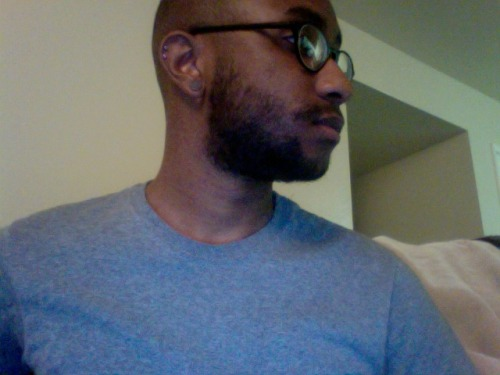 its been 1 month n my beard is growing in power, also i stretched up to 0g and i cant wait to get new glasses ps my cheek is full of seeds