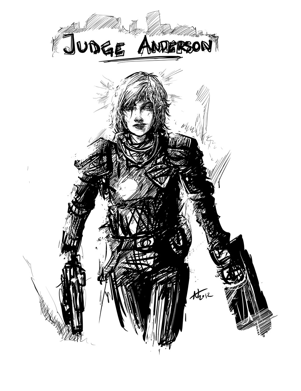 After seeing Dredd: Judge Anderson.