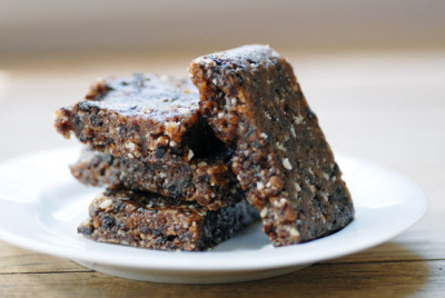 spicy vegan power bars by elana's pantry on Flickr.