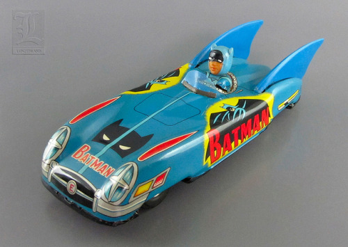 Way-out Batmobile from Japan (1966)