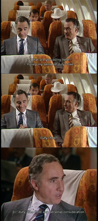 absurdistplayer:   'Yes Minister' - 'The Moral Dimension' Me on business trips…