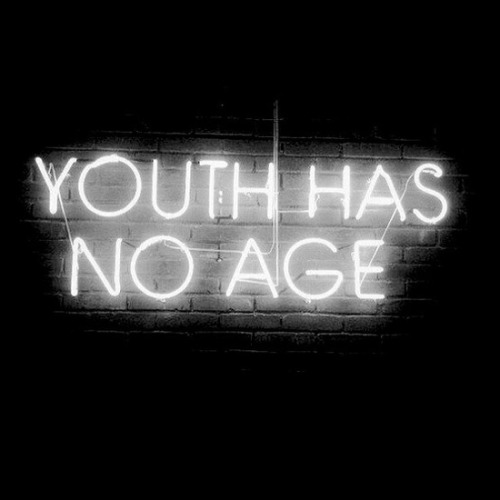 vodkainyourveins:  Youth has no age