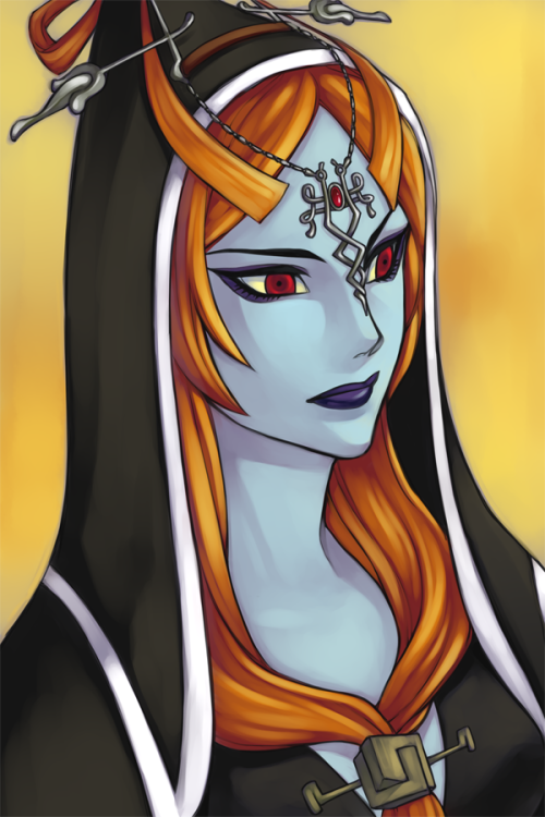 loz-painter:  tp: midna by ~esuri