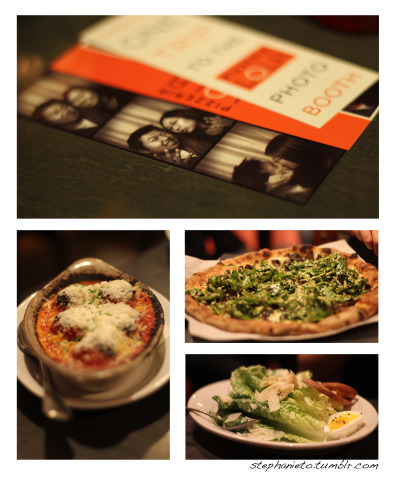 NINE1. House-made meatballs 2. Korean BBQ Pizza 3. Caesar salad w/hearts of palm and a soft boiled egg