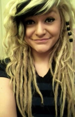 I miss my blonde dreads