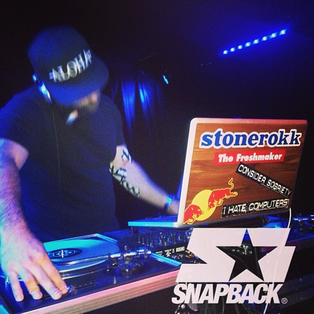A perfect mix for your cinco de Mayo weekend… @stonerokk 's @snapback_la Guest DJ set is available on soundcloud.com/djstubbs23  Check it out!!
