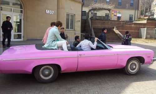 F.CUZ filming for their new MV