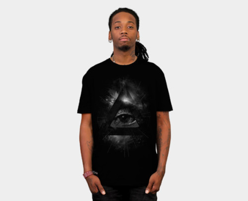 The Eye Tee available at designbyhumans. http://www.designbyhumans.com/shop/the-eye-t-shirt/12059/