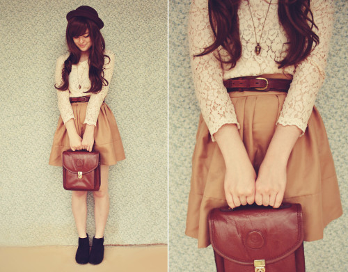 lookbookdotnu:  Neutrals (by Annika Victoria)