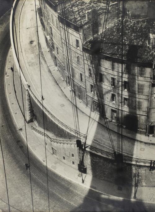 View from the Ferry, Marseille  Herbert Bayer, 1928  Via Ars Vita Est