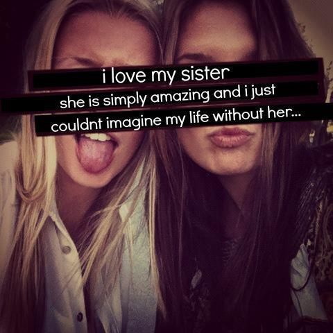 unbiological sisters… | via Facebook on We Heart It - http://weheartit.com/entry/59577059/via/vm_camila   Hearted from: https://www.facebook.com/