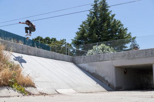 Frank GerwerEl Monstro KickflipSomewhere in Sacto. #frank gerwer#grimplestix#antihero skateboards#18#kickflip#sacramento#gnarbucket#skateboarding