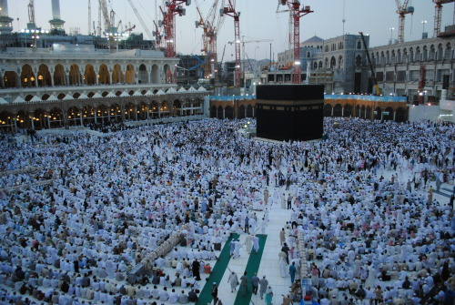 From the second floor. Right before Maghreb prayer.
