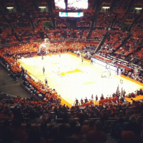 Illini game tonight. Glad we hung on for the win!