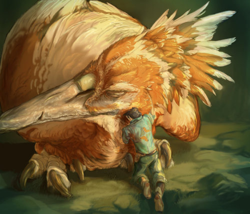 triruntu:  Fear of the Fearow by ~Tygarii-Razil