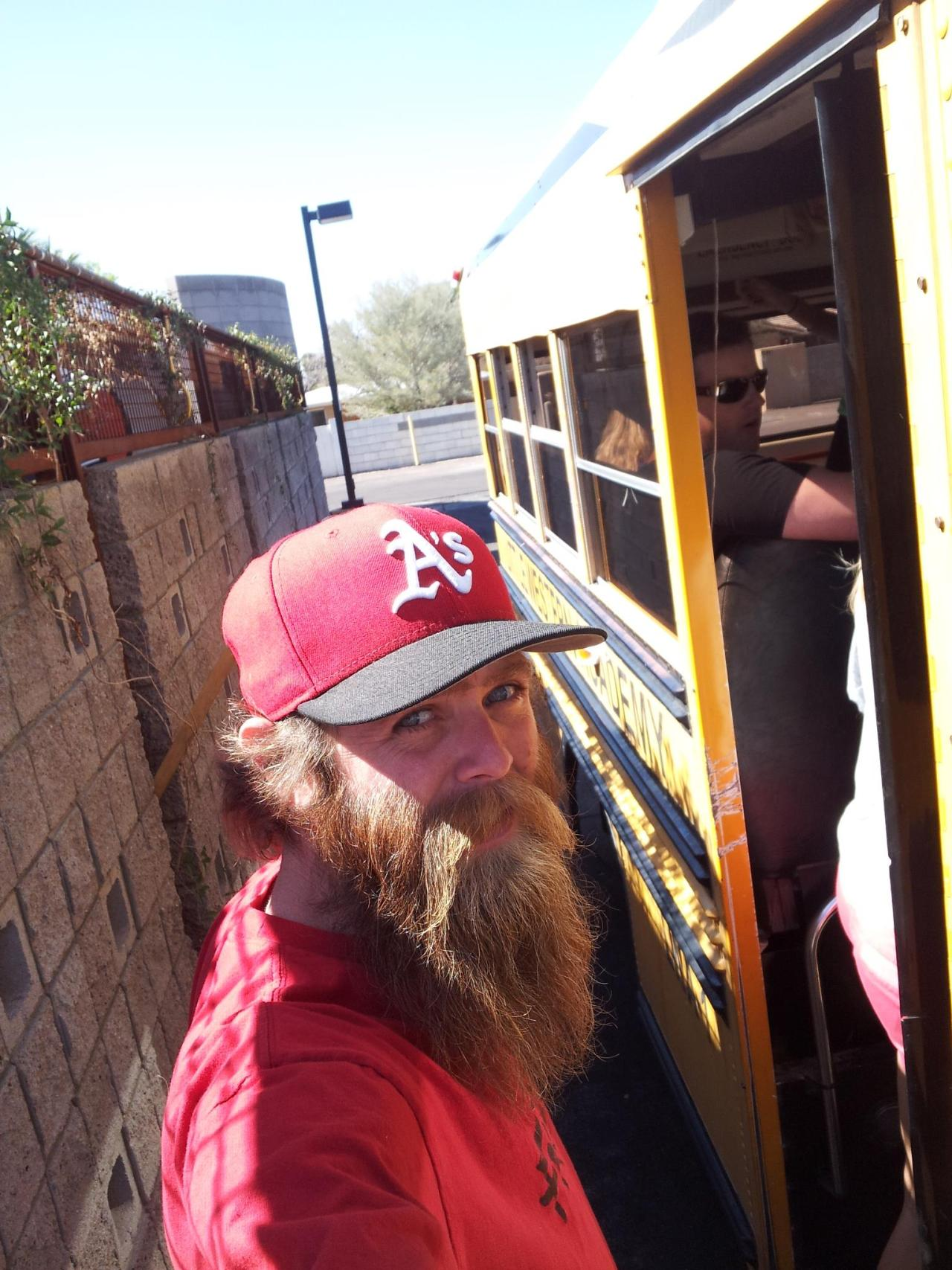 thedailybeard:  flickr-beard-power:  This is my Bearded Brother - AaronGood beard. Great moustache.All round good guy!!  that's a beard worthy of the incredibeard title.