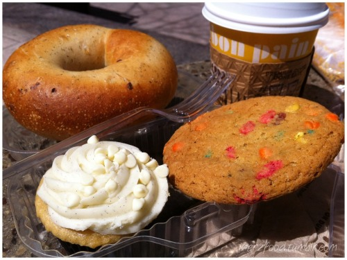 American Breakfast from Au Bon Pain