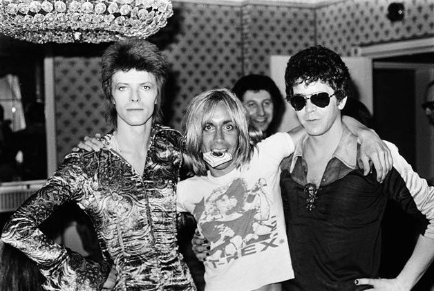 David Bowie & Iggy Pop & Lou Reed