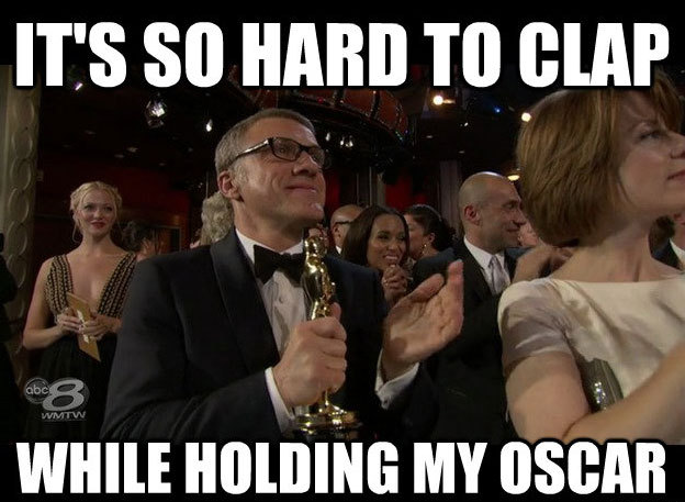 uproxx:  Christoph Waltz And Quentin Tarantino Also Win The Best Post-Oscars Memes