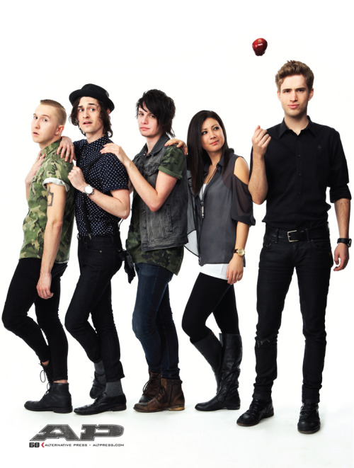 The Summer Set, Los Angeles 2013 for Alternative Press.