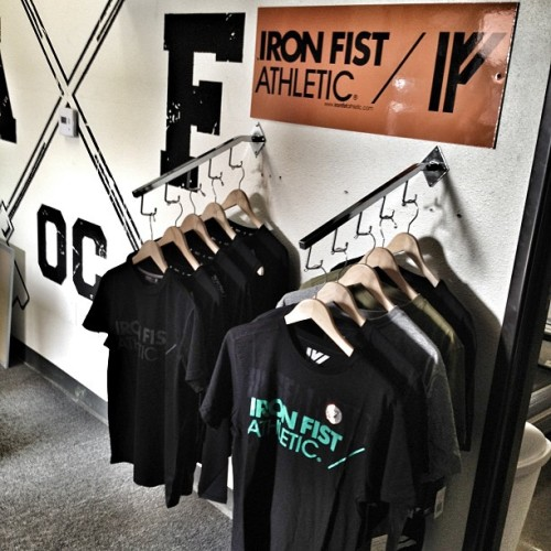 Iron Fist Athletic apparel now available at Rise Above Fitness. We are carrying the men's Water Reactive tee's and men's base layer training shirts. So stop by and check it out. Also check out www.ironfistathletic.com @irnfstathletic #raf #riseabovefitness #teamraf #functional #fit #fitblr #fitness #training #gym #instagood #inspiration #instagramfitness #fitstagram