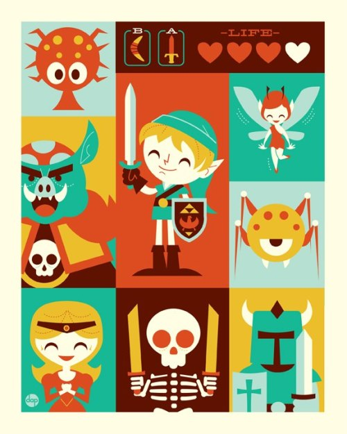 Encounters in Hyrule by Dave Perillo