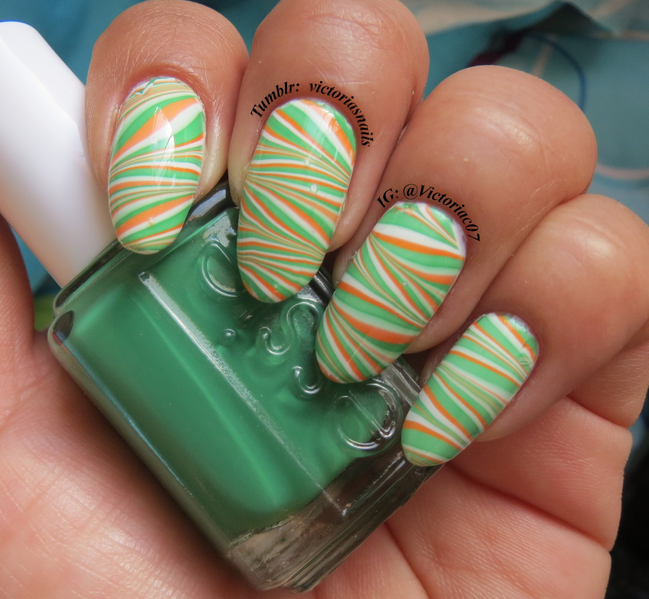 Irish flag colors for St. Paddy's day!