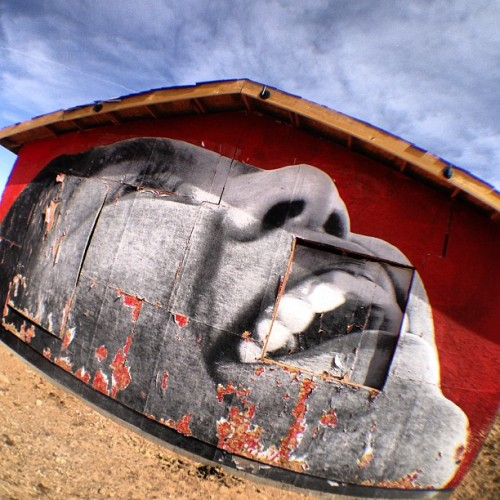 Mural in Nowhere, AZ #art #graffiti #mural