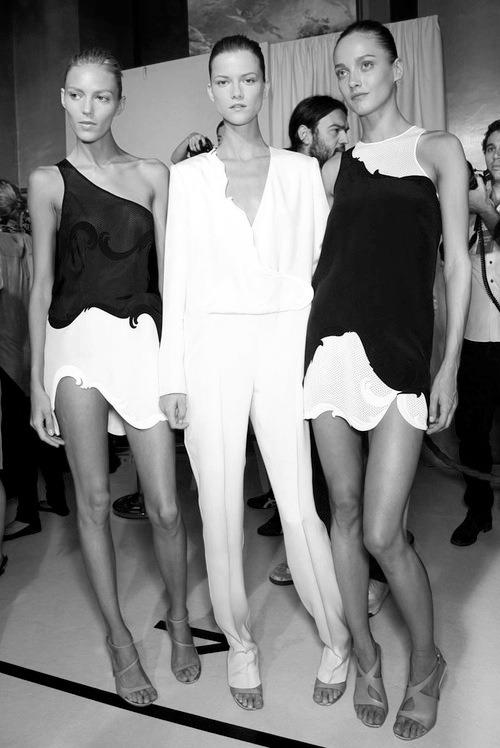 Models: Anja Rubik, Kasia Strus