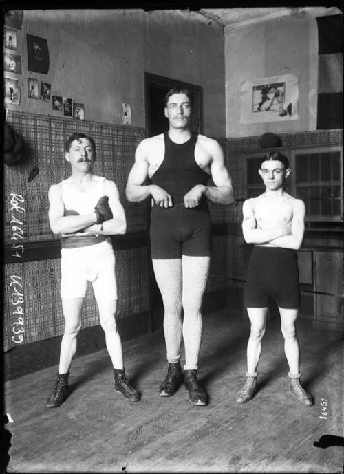 The early-20th-century photo of French boxers that inspired this new gem from Sophie Blackall, one of the finest illustrators working today. Also see Blackall on creativity and the secrets of subversive storytelling.