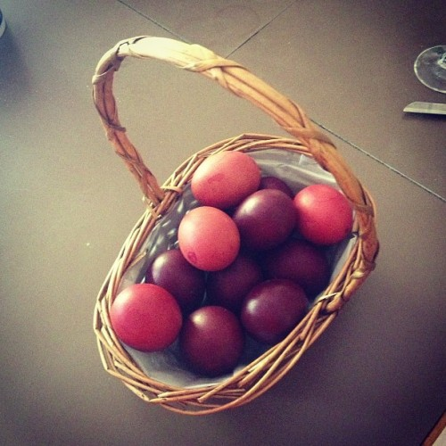 Greek easter eggs. #greek #eggs #easter