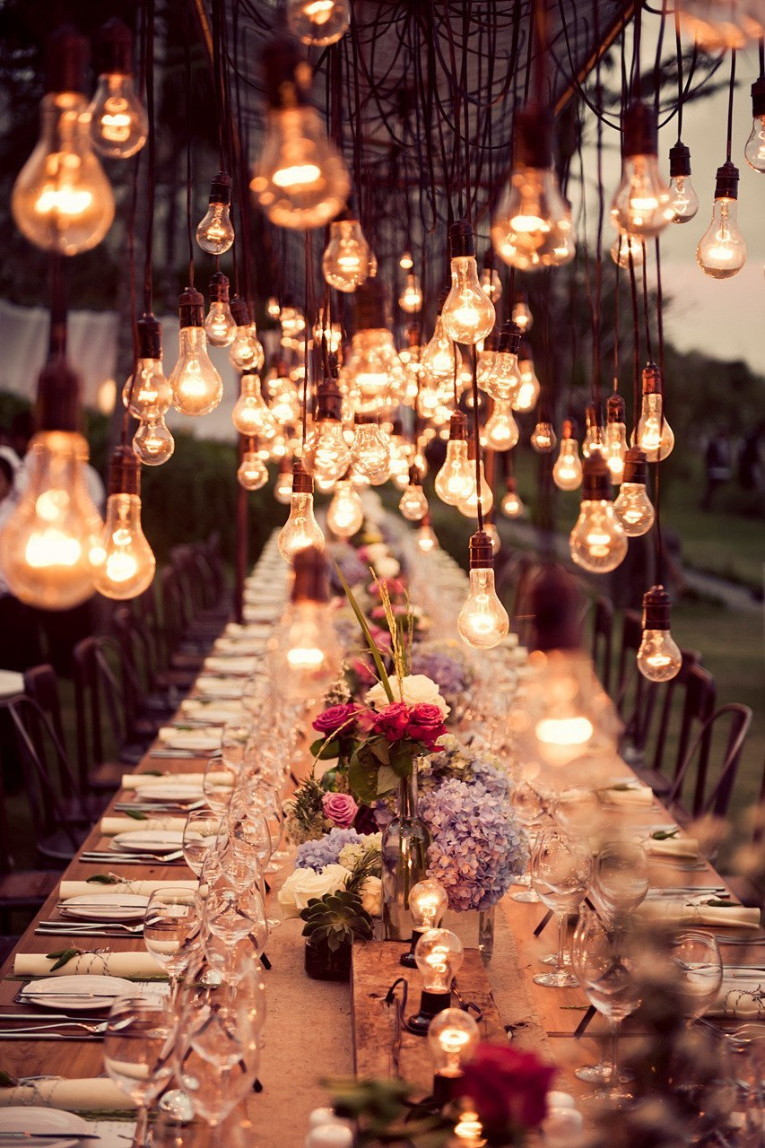 #romantic #creative #diy #craft #outdoor #dinner