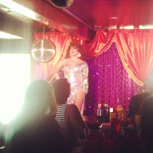 Drag queens and booze. And excellent Sunday indeed.