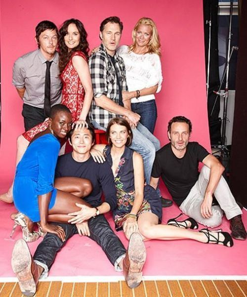 The cast of 'The Walking Dead'
